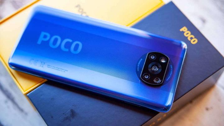 Image smartphone Android, Xiaomi Poco
