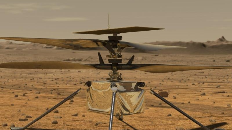 """Space travel - Helicopter """"ingenuity"""" first flight over Mars postponed - Knowledge"""