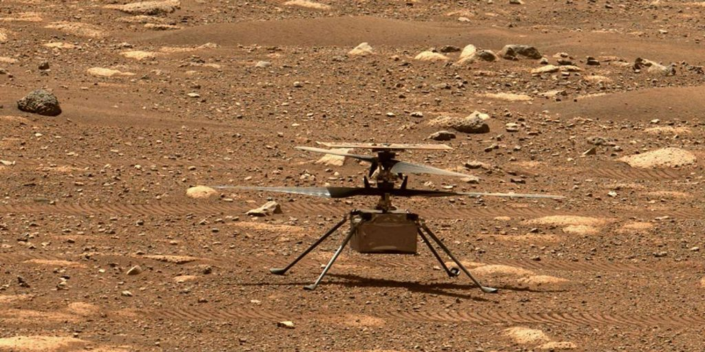 NASA delays intelligent helicopter flight to Mars due to technical problem
