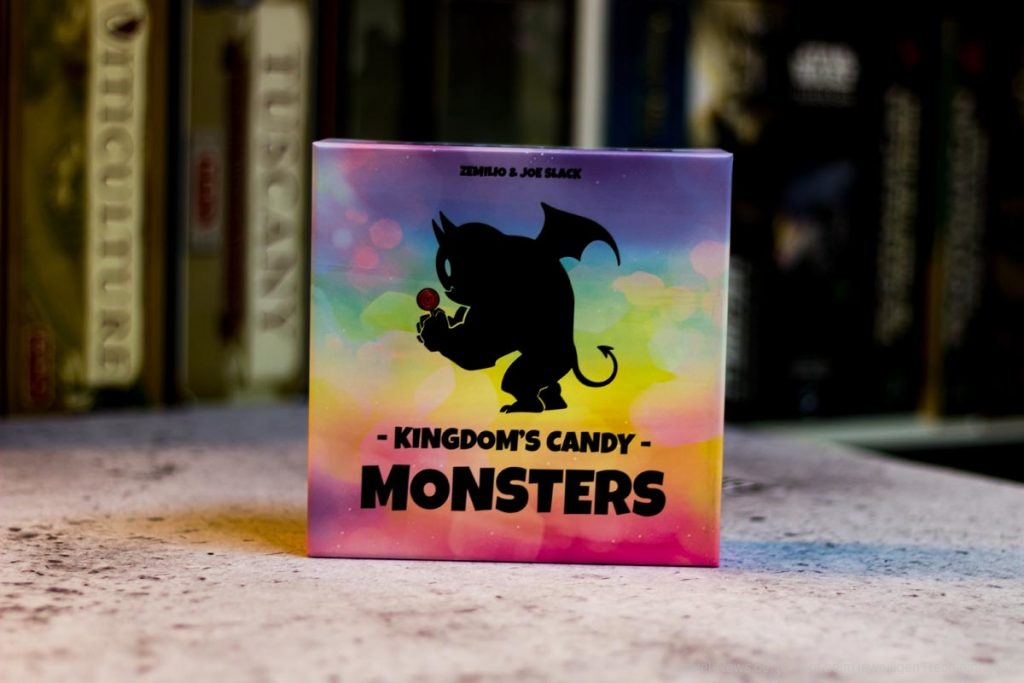 Test // Candy monsters in the kingdom
