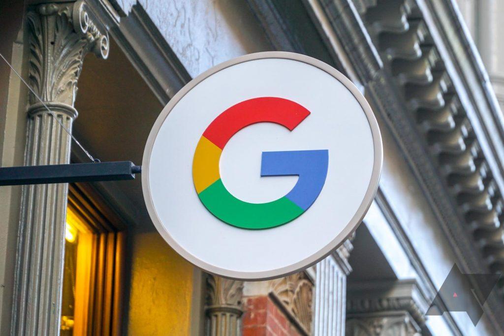 google flagship store logo