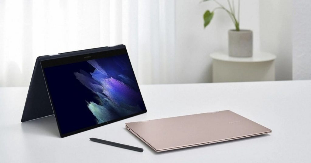 The Samsung Galaxy Book offers a range of laptops with AMOLED screens