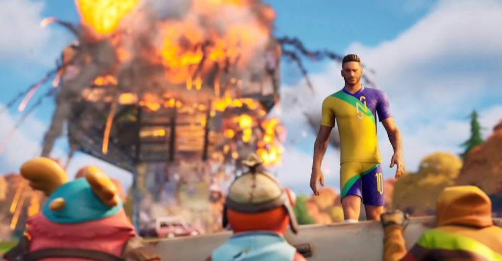 Fortnite Neymar receives leather and battle bass items |  fortnite