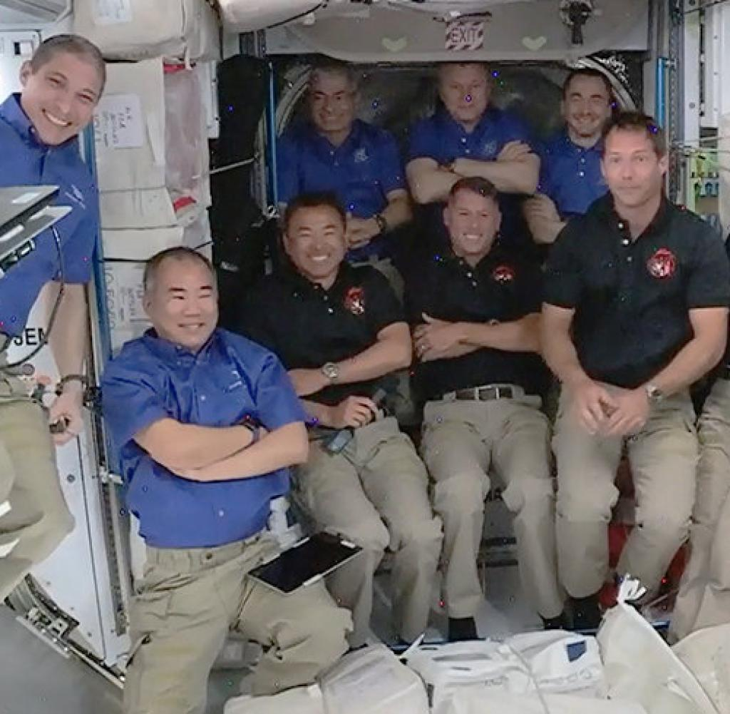 At SpaceX Crew 2 International Space Station