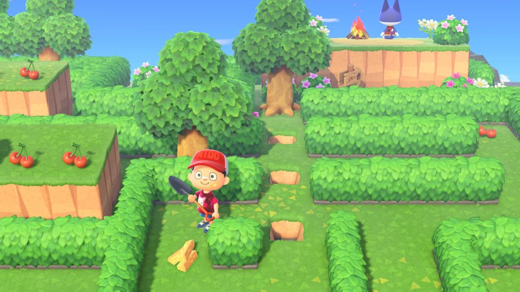 Maze at Animal Crossing on May 1, 2021, how to do it?  - Breakflip