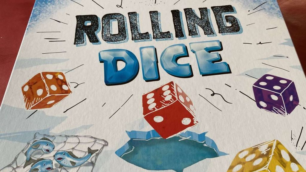 Putting rolling dice to the test: Backgammon with a rolling dice