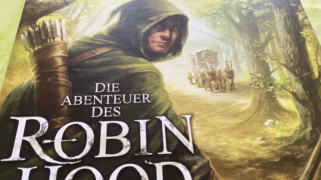 Putting the adventures of Robin Hood to the test: this is how you play the new Menzel board game