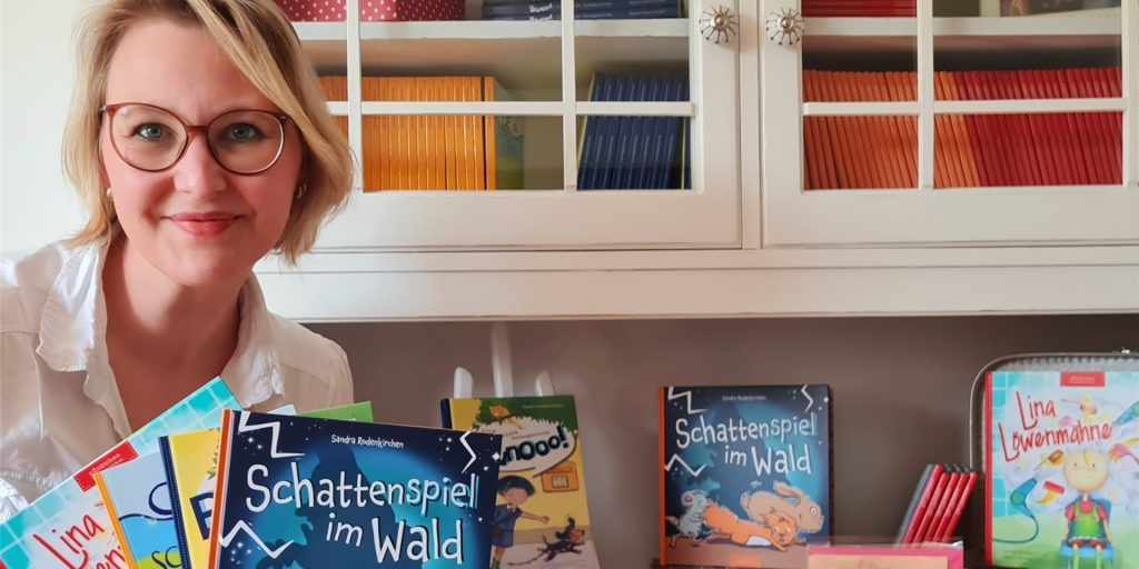 Shadow Play in the Woods: Painter Haltern publishes an illustrated book