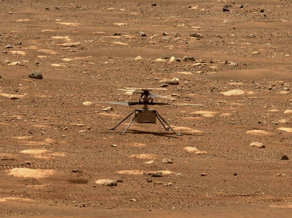 The Mars Helicopter Intelligence is scheduled to fly for the first time Monday
