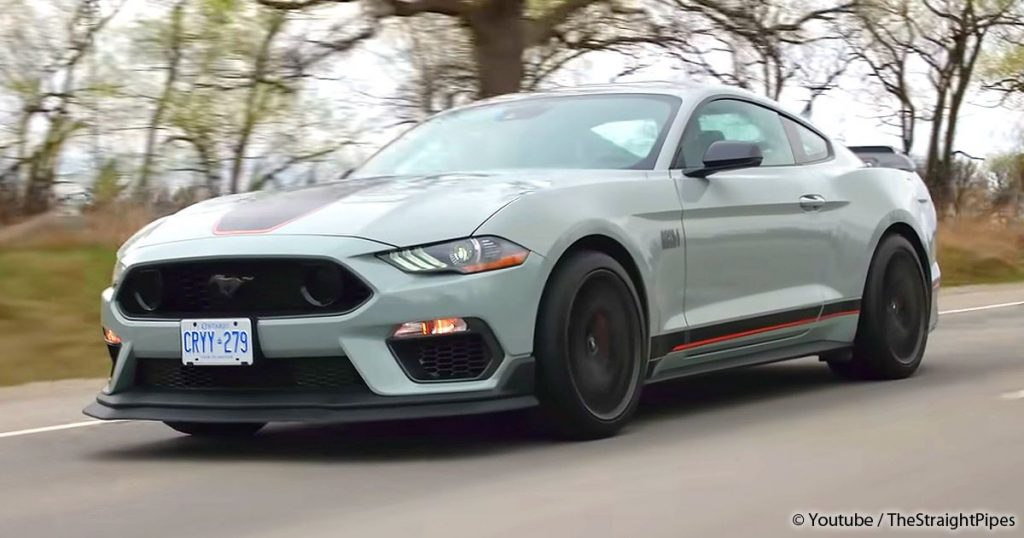 The new Mustang Mach 1 - a true PS beast with Hell Sound - MANN.TV