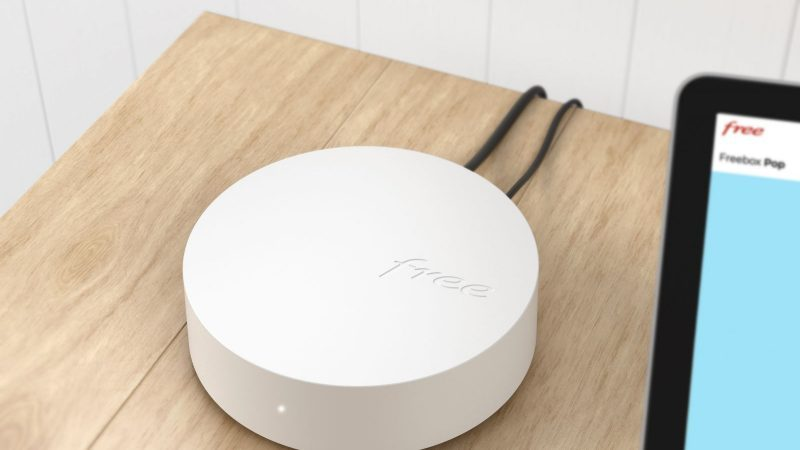 Free constantly updates its WiFi repeater