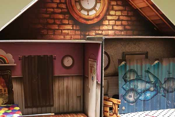 Room Escape: The Cursed Doll's House - 3D Building Detail - Photo by Axel Bongaert