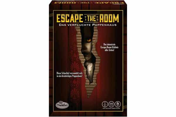 Room Escape: The Cursed Dollhouse - Thinkfun Photography