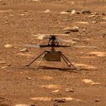Perseverance captures the sound of the 4th ingenious helicopter on Mars