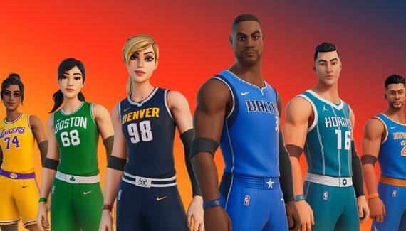 Fortnight goes into NBA mode!  |  NBA