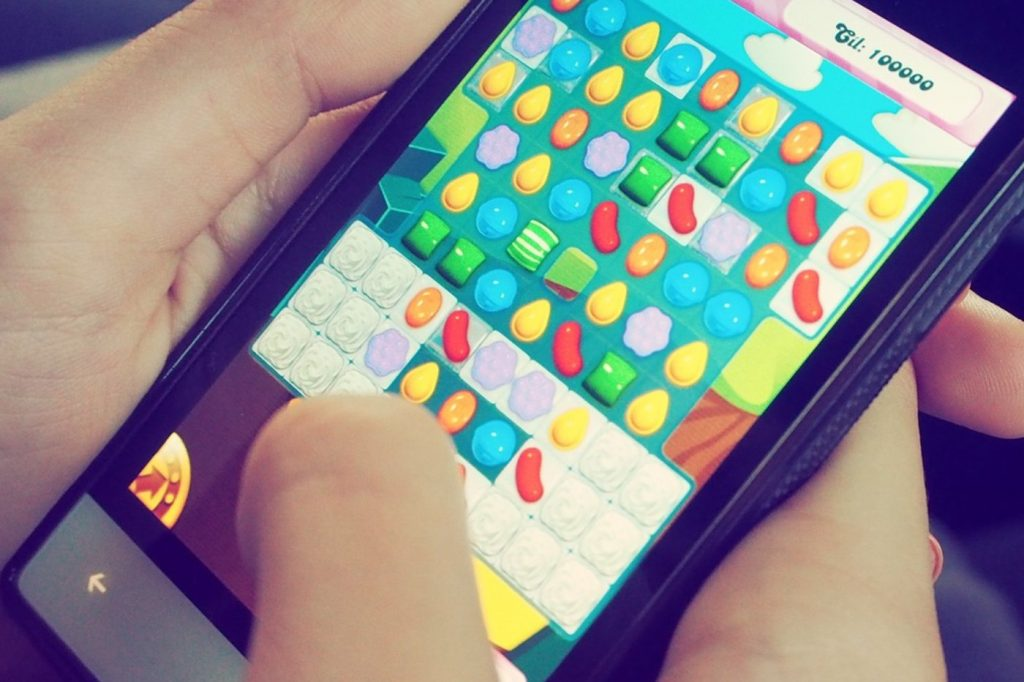 Candy Crush sur mobile