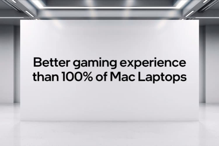 Intel again rejects M1 chip in game-centric campaign