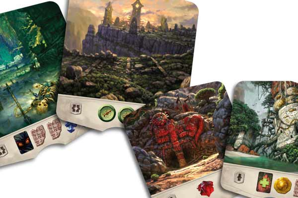 The Lost Monuments of Arnak - Location Tile - Photograph by Heidelbar