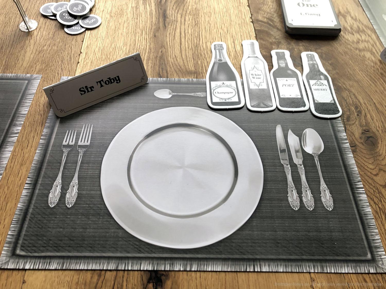 Dinner for one 100