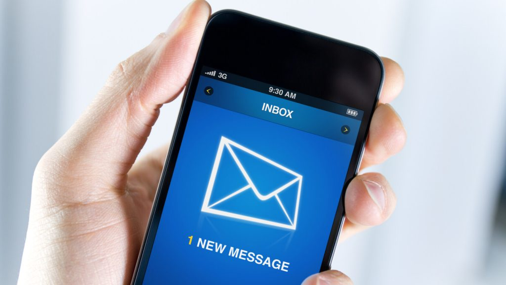 Instead of package notifications, now it is: This SMS is stealing your bank details