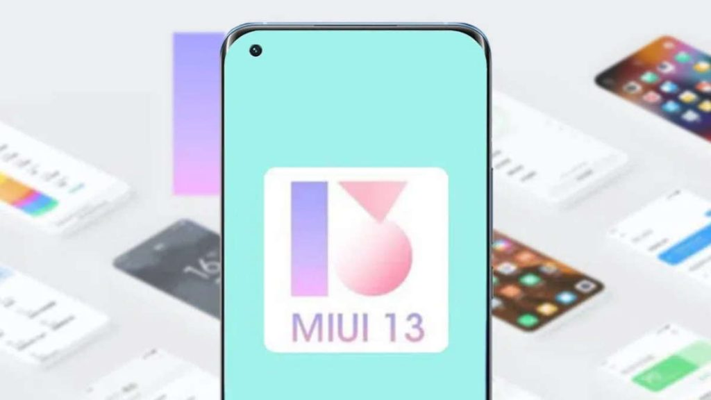 Xiaomi MIUI 13 smartphones versão