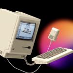 Designer 1984 Macintosh – Creates modern business for MacMagazine.com.br