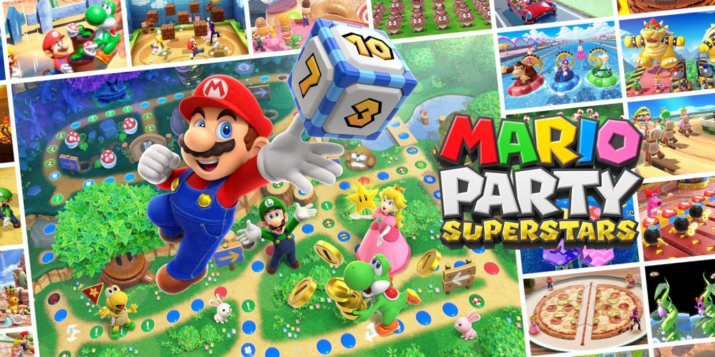 Enjoy five classic game boards and 100 mini-games from the N64 era Nintendo Connect