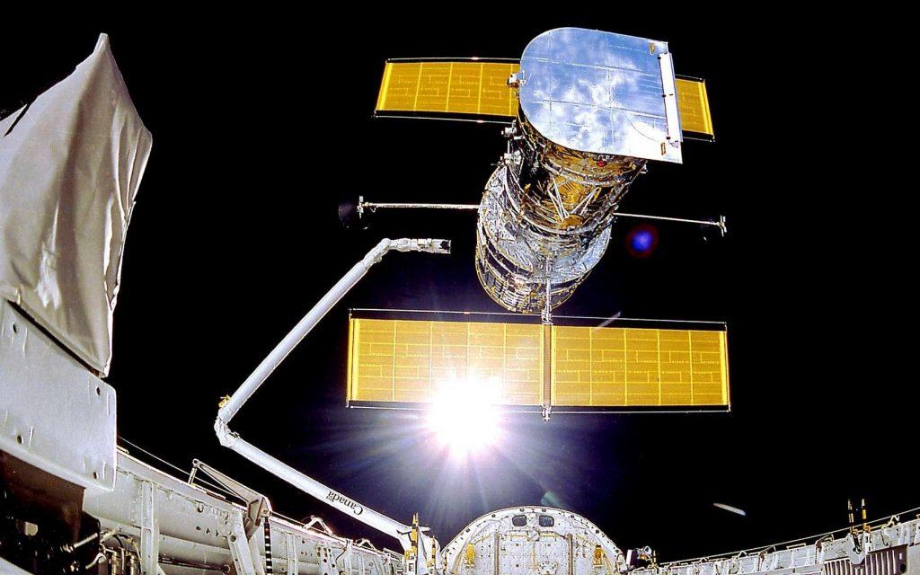 Le télescope Hubble est complètement à l'arrêt depuis plusieurs jours suite à une défaillance de l'ordinateur de bord. © Nasa, Smithsonian Institution, Lockheed Corporation