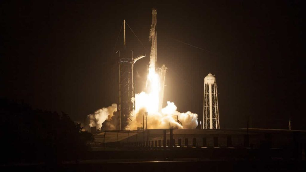 SpaceX Dragon has successfully docked at the International Space Station