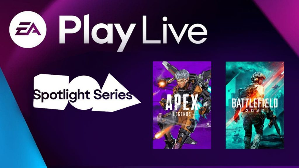 Battlefield 2042 and Apex Legends: E.A.  Check out the conference here now!  |  Xbox One