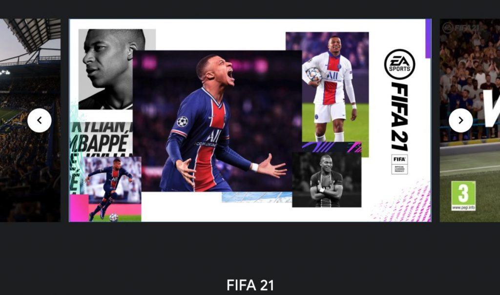 FIFA 22 computadores