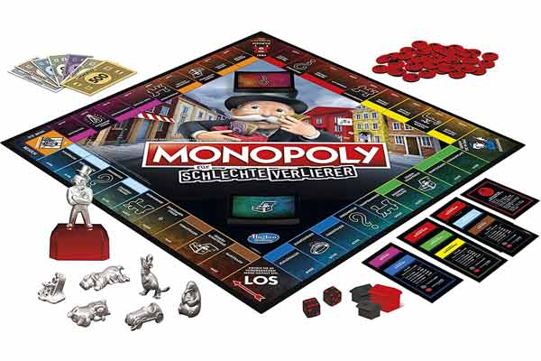 Monopoly: For Bad Losers - Game Board - Photography by Hasbro
