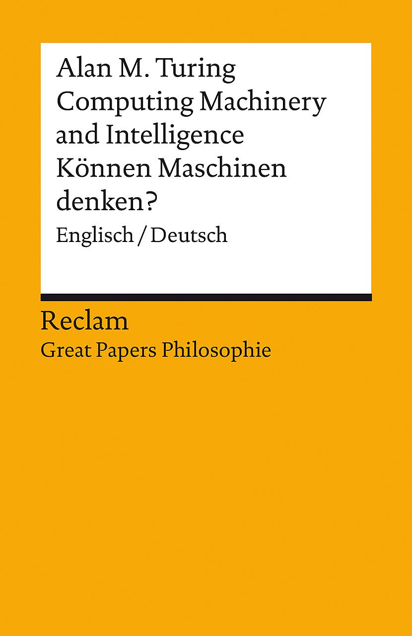 """Buchkritik zu """"Computing machines and intelligence"""""""