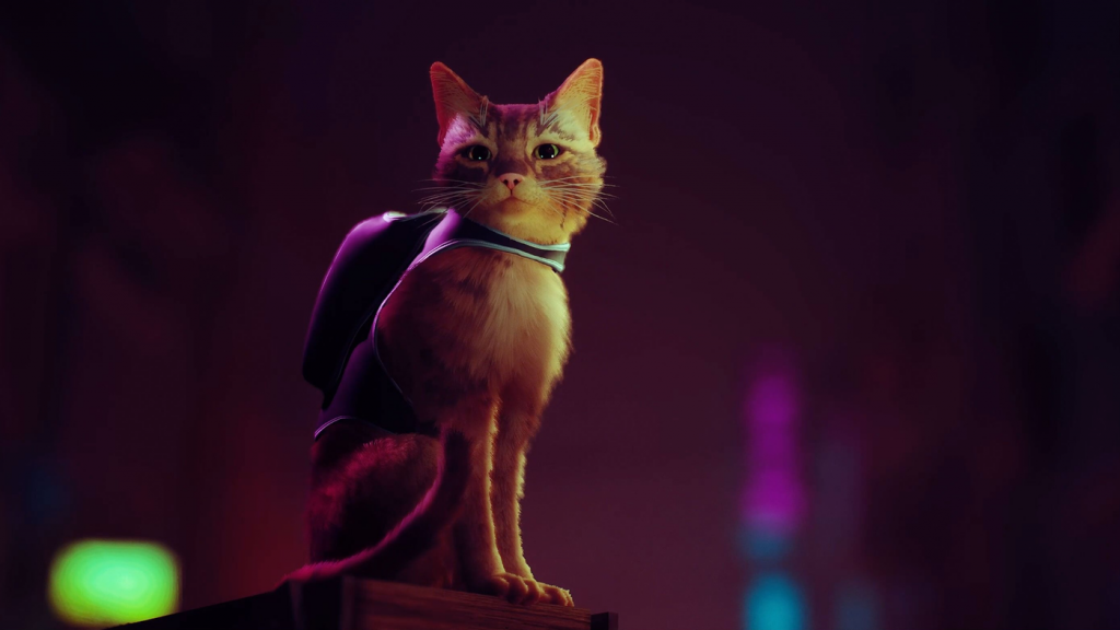 Check out the cat-played Stray, a game of cyberpunk