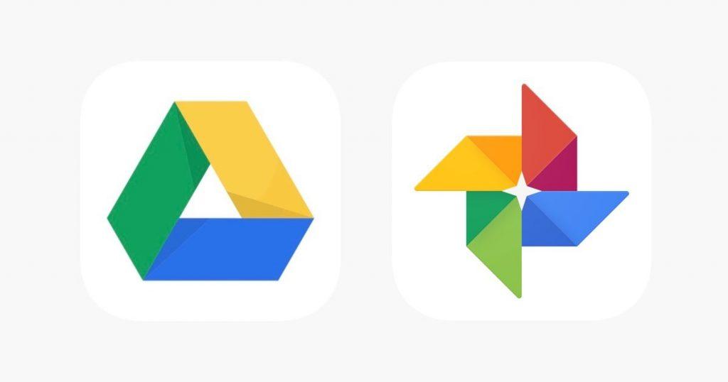 google drive et google photos
