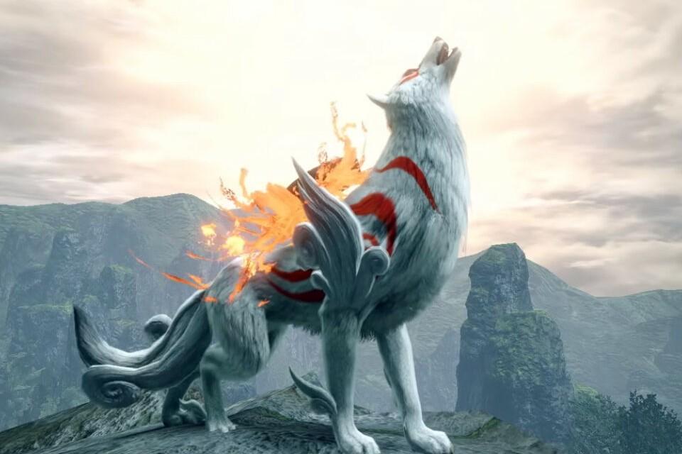 Imagem de: Monster Hunter Rise terá crossover com Okami ainda este mês
