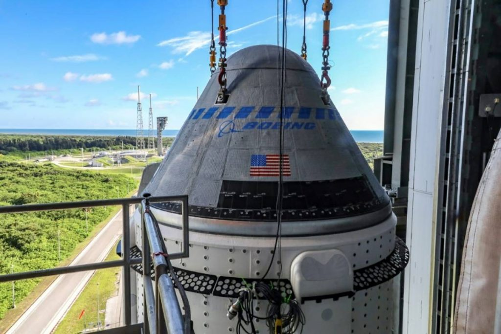 New delay for flight of Boeing Starliner space capsule
