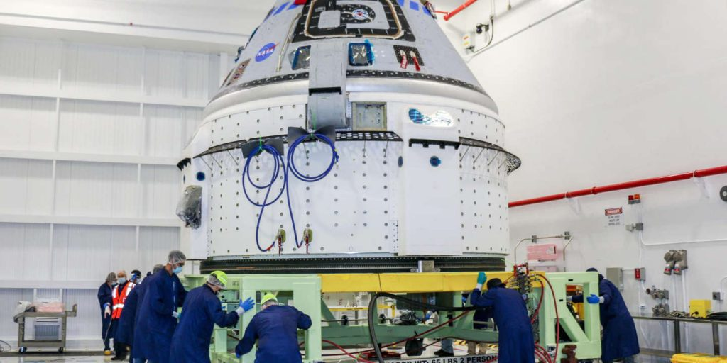 Boeing returns its space capsule Starliner to factory, with several months to delay its flight