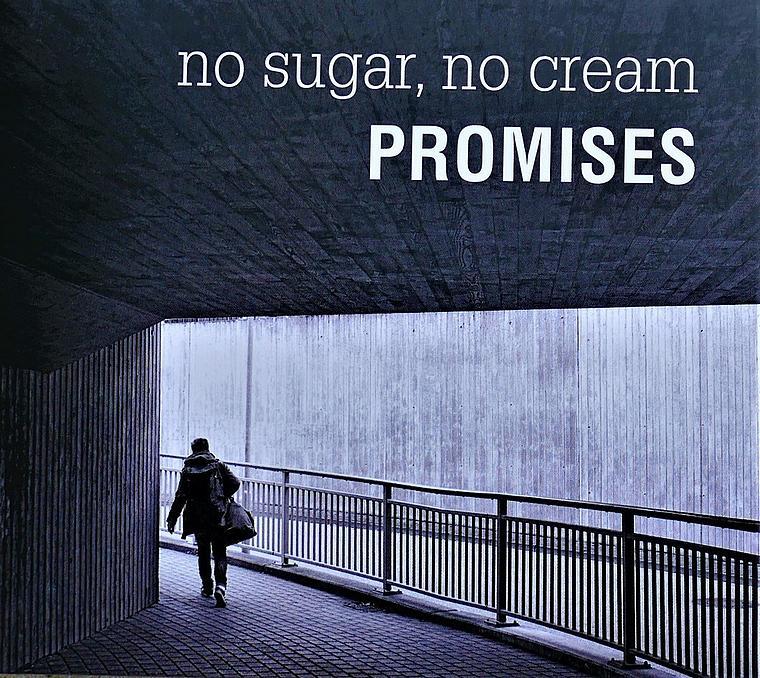 """The new record of No sugar, No cream """"promises"""""""