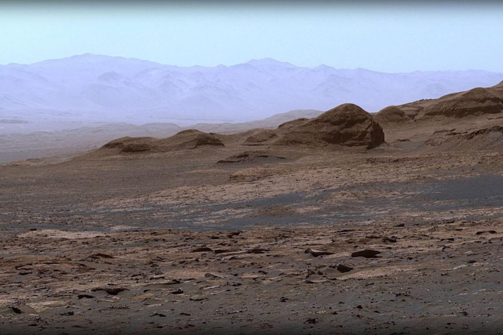Curiosity: NASA has released an excellent Mars panorama
