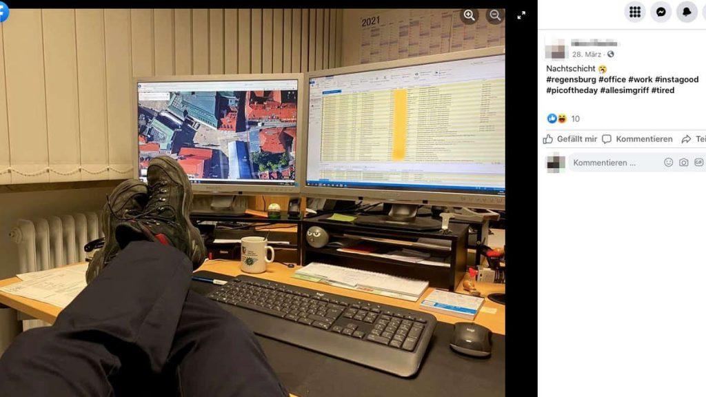 Law enforcement officer in Regensburg retaliates against complaints about Google reviews under a pseudonym