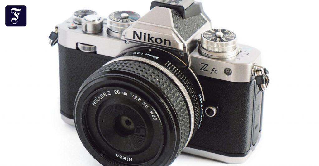 Nikon tried the Z FC digital camera