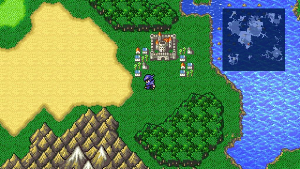 The final Fantasy 4 Pixel remaster for PC and mobile phones is coming in September