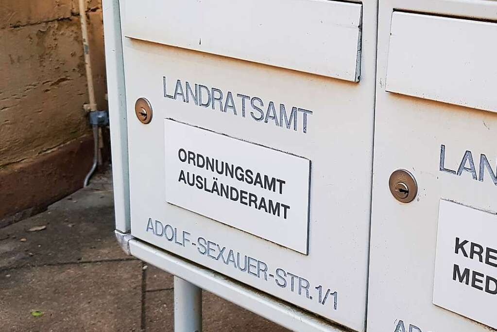 The office learned of discrimination in the immigration authorities - Emmendingen