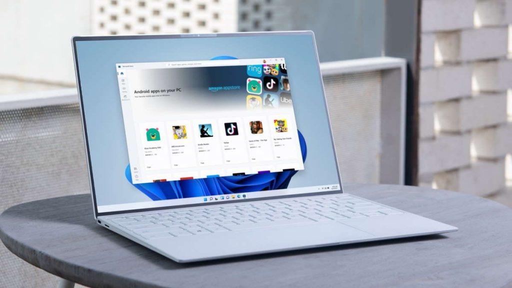 Windows 11 Android Microsoft loja apps