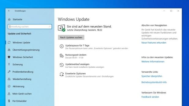 Update Windows 10 in advance.