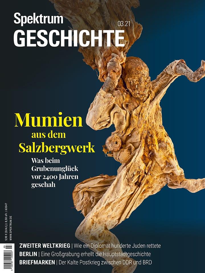 Spectrum date: 3/2021 Salt mummies