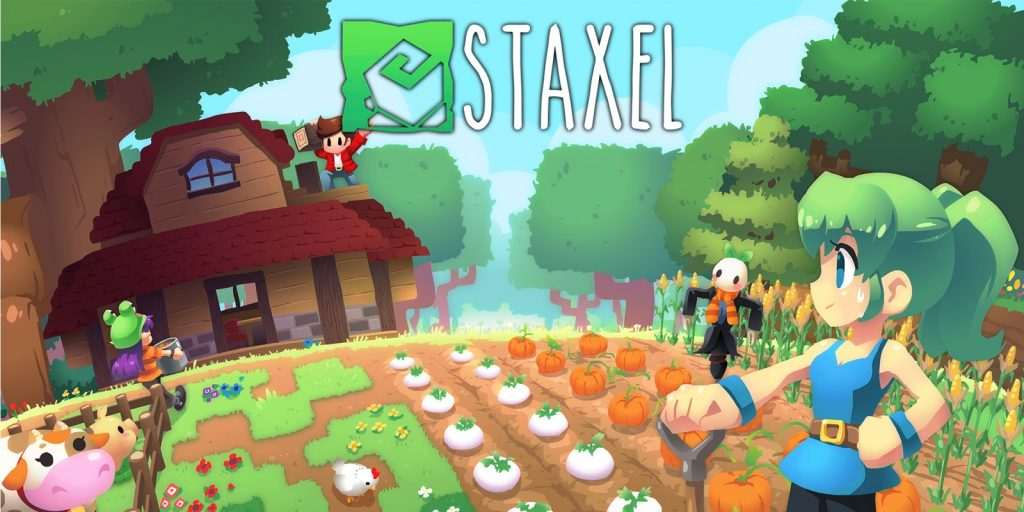 Idyllic farm building, village life and first person invention