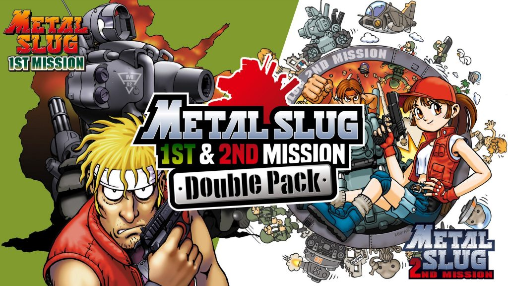 SNK Announces a Metal Slug 1st and 2nd Mission Pack, and a collection of 10 NGP games for Switch