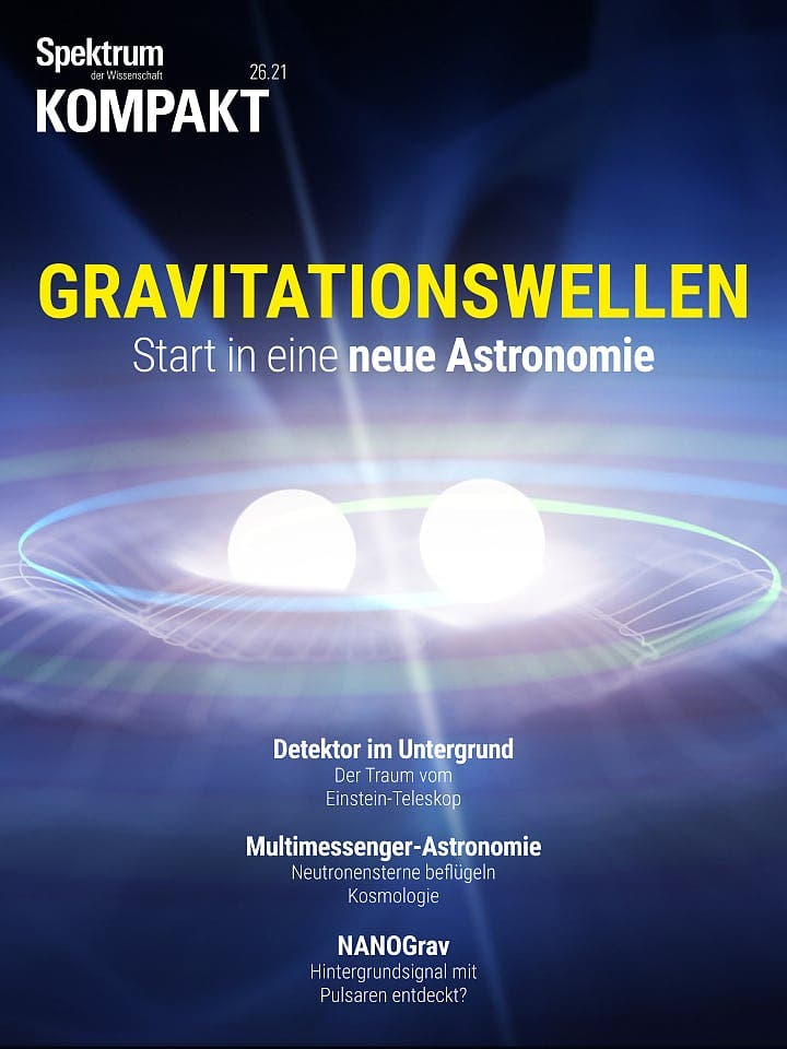 Spectrum agreement: Gravitational waves - the beginning of a new astronomy